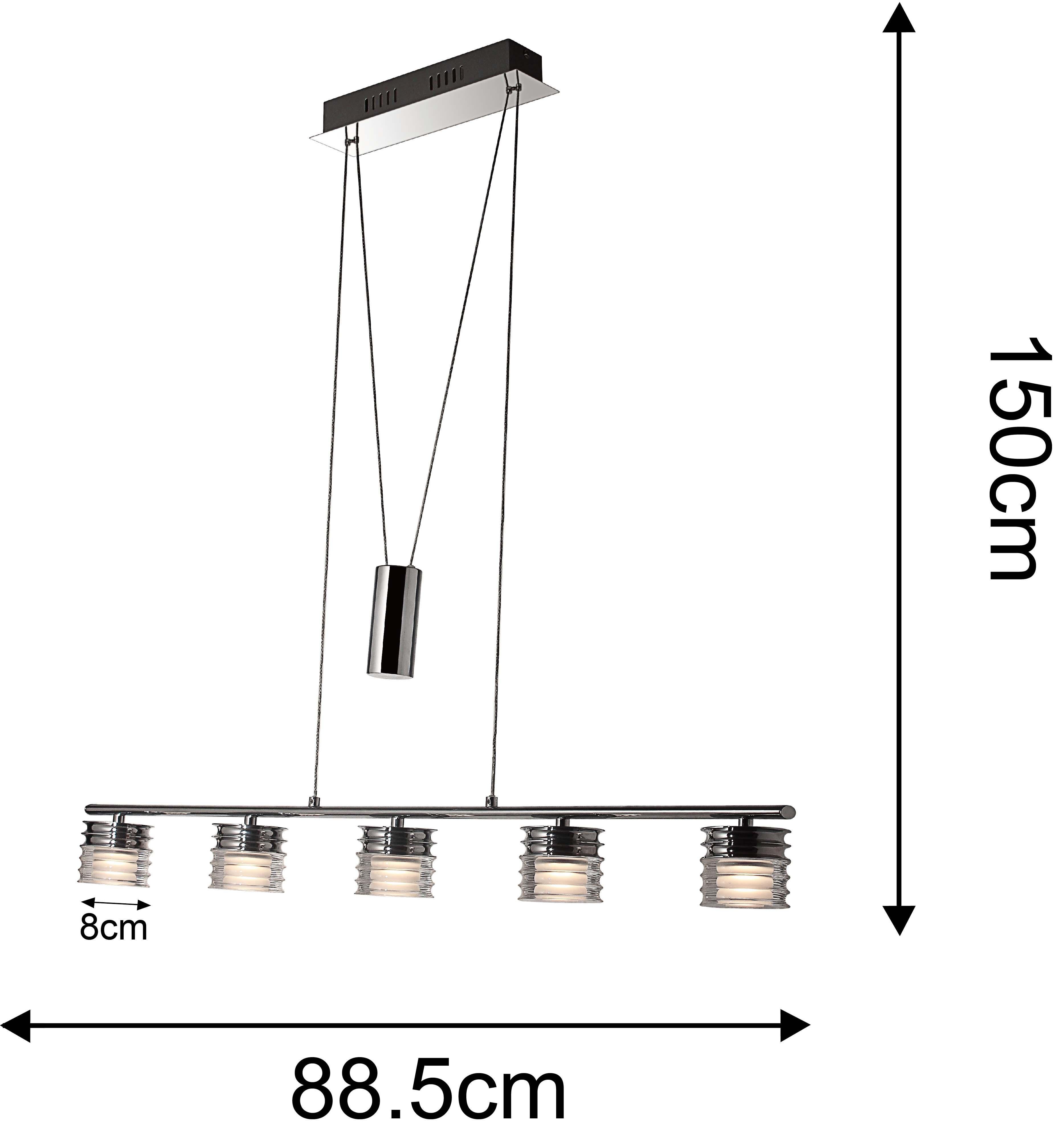 LED 5w Hanging Light Ceiling Light Serie8098 Adjustable