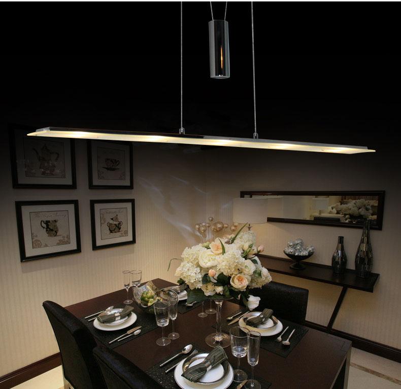 led pendelleuchte sd8095 05b 5x5w h henverstellbar h ngeleuchte chrom glas ebay. Black Bedroom Furniture Sets. Home Design Ideas