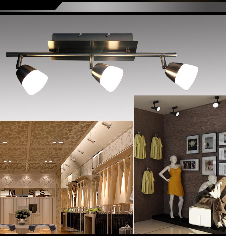 Led deckenlampe sx8228 03a 3x5w deckenleuchte balken for Deckenleuchte led balken