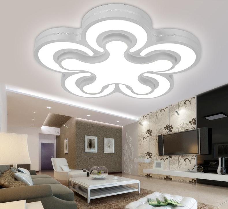 LED Deckenleuchte 2031 Kleeblatt Design Lichtfarbe ...