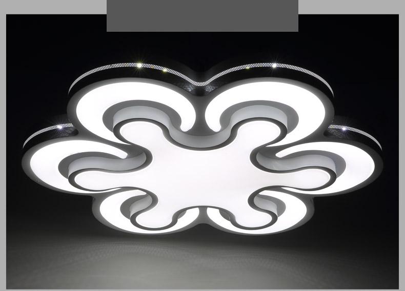 led deckenleuchte 2031 kleeblatt design lichtfarbe helligkeit einstellbar 2015 ebay. Black Bedroom Furniture Sets. Home Design Ideas