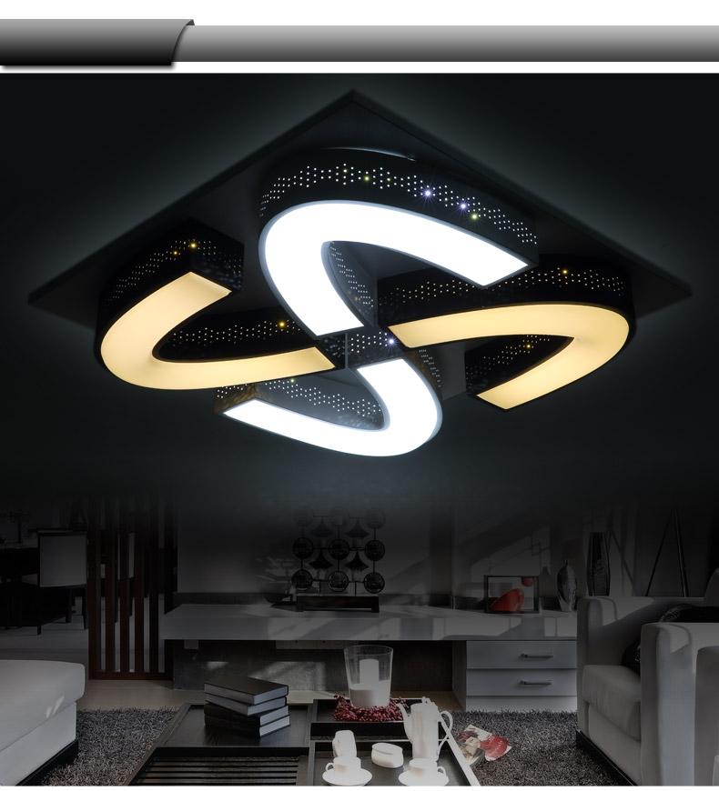 Lampada da soffitto a LED 2038 con telecomando 3 modalità bianco ...