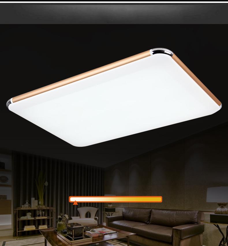 led deckenleuchte 6086 golde rahmen lichtfarbe helligkeit. Black Bedroom Furniture Sets. Home Design Ideas