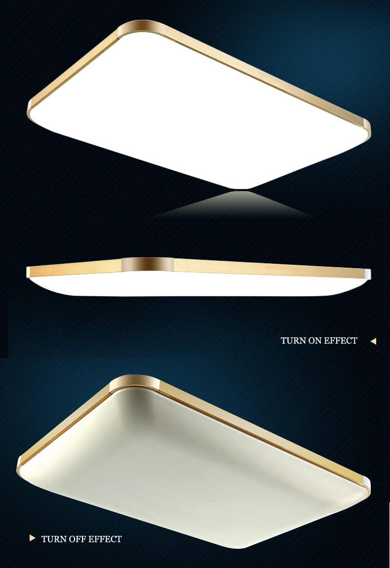 led deckenleuchte 6088 silber gold rahmen lichtfarbe helligkeit einstellbar ebay. Black Bedroom Furniture Sets. Home Design Ideas