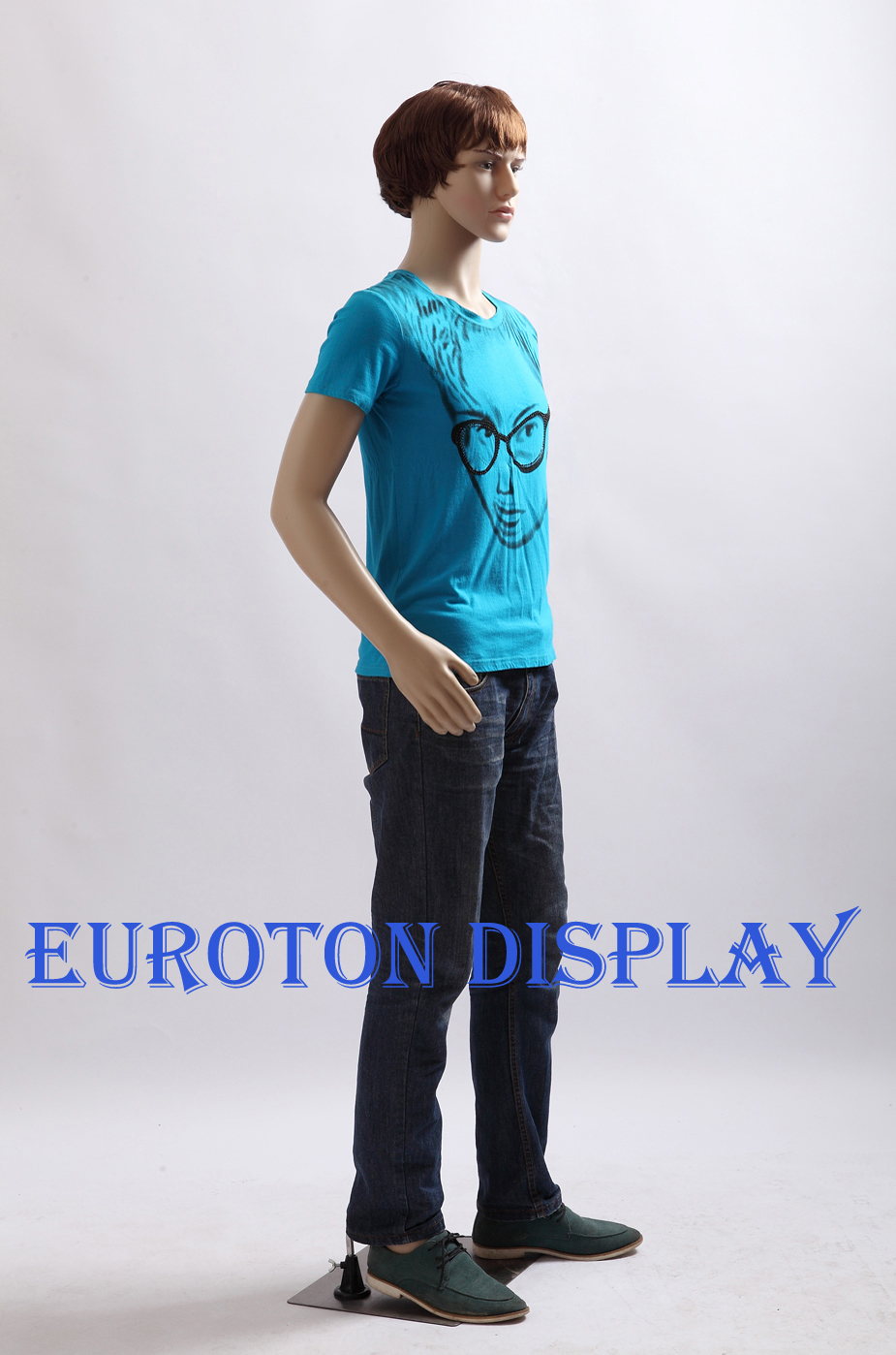 sm 1 eurotondisplay mannequin homme pe plastique mobile ebay. Black Bedroom Furniture Sets. Home Design Ideas