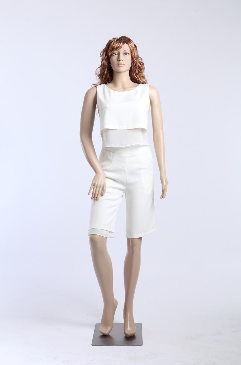 sf 24 f minine mannequin de vitrine avec 2 perruque gratuit tour 96cm plastique ebay. Black Bedroom Furniture Sets. Home Design Ideas
