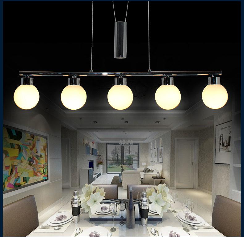 Hänge Leuchte Led Glas 20 Watt Lampe Lxbxh 1000x120x1650: LED Pendelleuchte Deckenleuchte 8098 Chrom