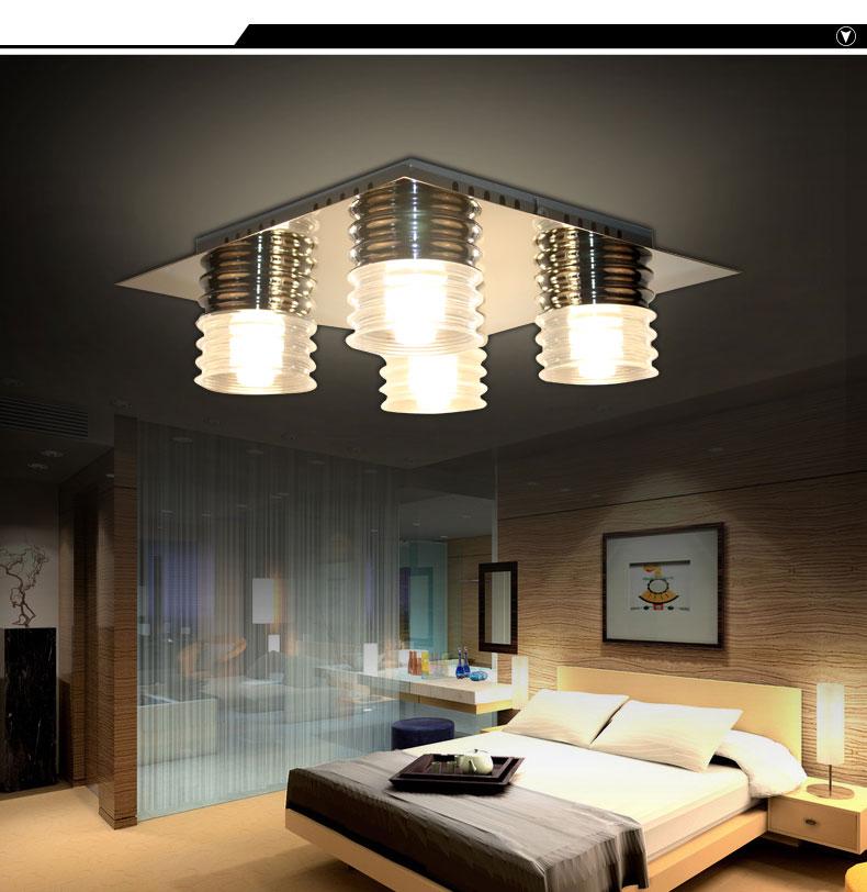 Hänge Leuchte Led Glas 20 Watt Lampe Lxbxh 1000x120x1650: Deckenlampe Inkl. Leuchtmittel A+ TOP LED Angebot