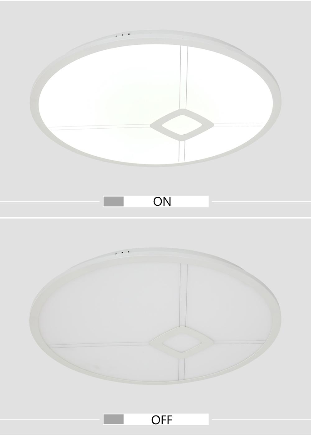 led 2108 deckenleuchte lichtfarbe und helligkeit einstellbar acryl sparsam a ebay. Black Bedroom Furniture Sets. Home Design Ideas