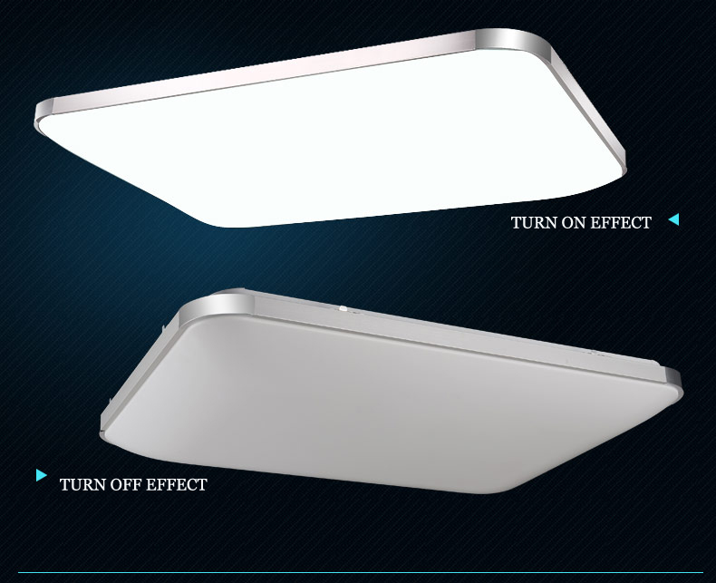 led ceiling light 6088 silver gold frames light colour brightness adjustable a ebay