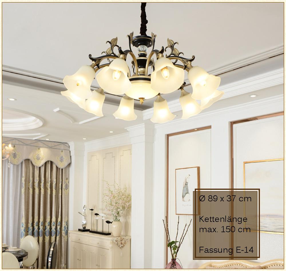 kronleuchter 8240 10 deckenlampe kristall fassung e14 luxuri s neu l ster ebay. Black Bedroom Furniture Sets. Home Design Ideas