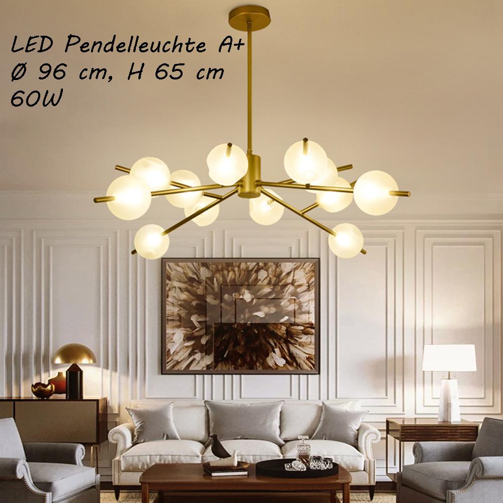 deckenleuchte leuchte h ngend deckenlampe fassung e14 g9 luxuri s neu l ster ebay. Black Bedroom Furniture Sets. Home Design Ideas