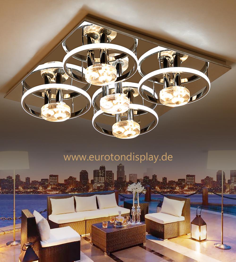 led deckenleuchte d808 mit fernbedienung lichtfarbe. Black Bedroom Furniture Sets. Home Design Ideas