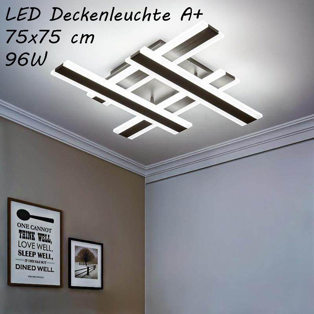 Bon état DEL éclairage au plafond avec Télécommande Couleur de la lumière//luminosité réglable 2119