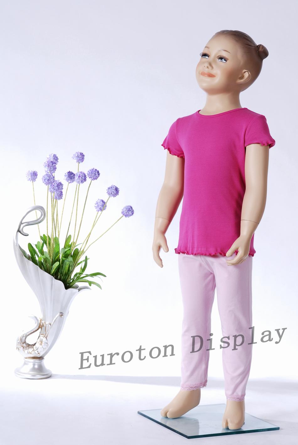Gute Fragen An Madchen >> BB-3 Schaufensterpuppe Kinderpuppe Hautfarbe Mädchen Schick modern stehend Kind | eBay