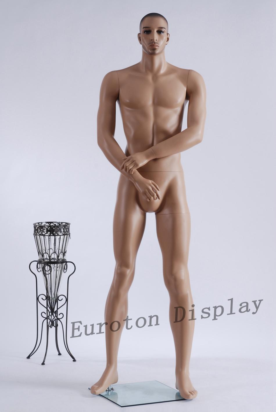 Schaufensterpuppe M-11 Mannequin männliche Schaufensterfiguren Mann neu